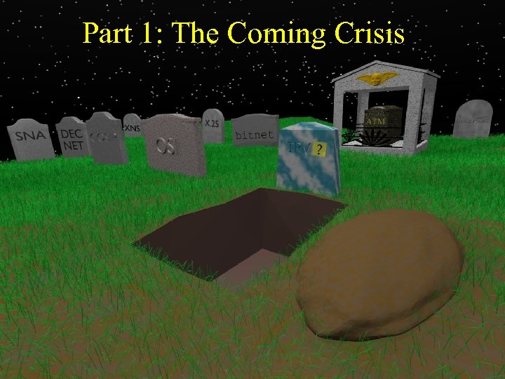 Part 1: The Coming Crisis