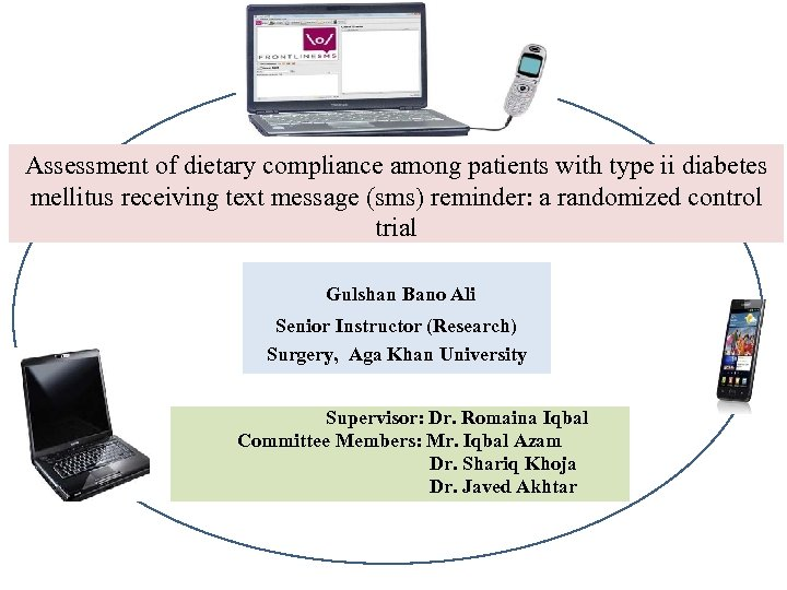 Assessment of dietary compliance among patients with type ii diabetes mellitus receiving text message