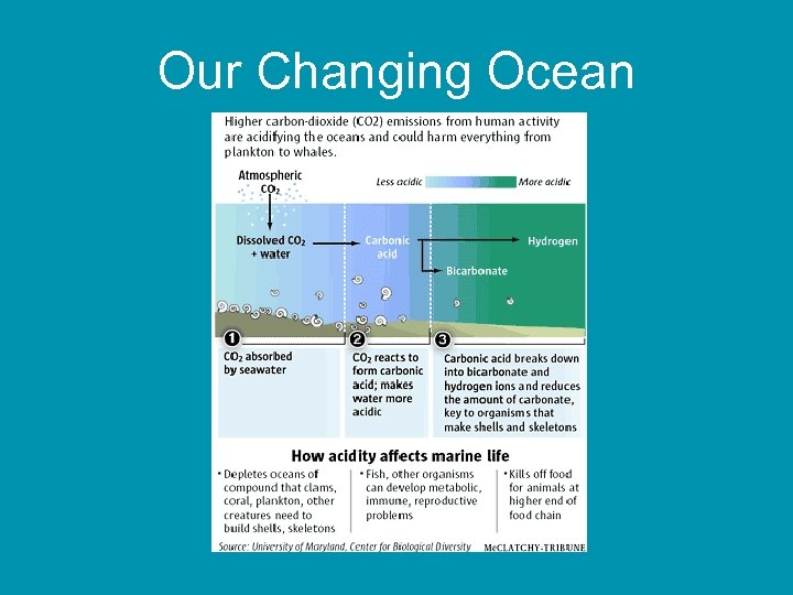 Our Changing Ocean