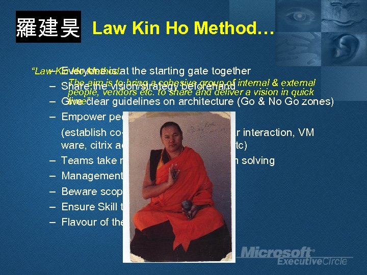 """Law Kin Ho Method… – Everyone is """"Law Kin Ho Method: at the starting"""