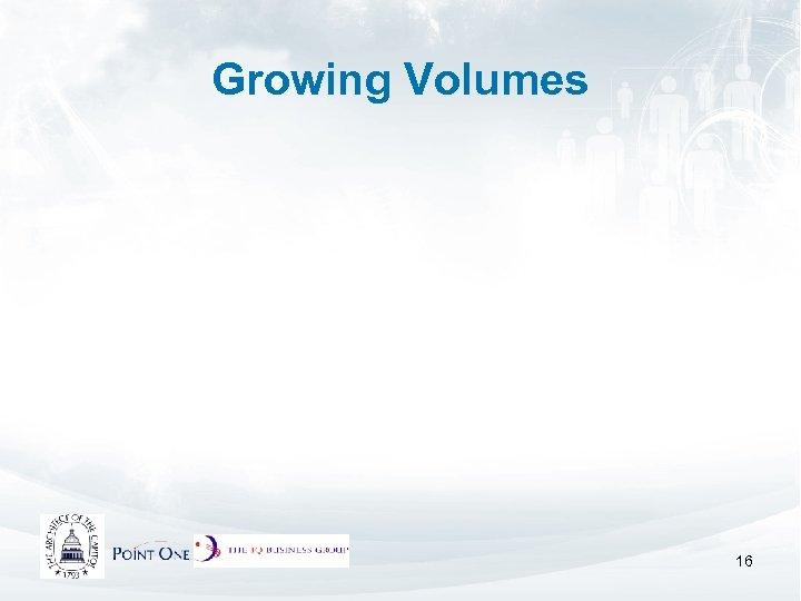 Growing Volumes 16