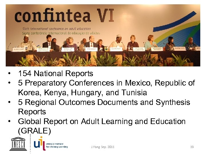 • 154 National Reports • 5 Preparatory Conferences in Mexico, Republic of Korea,