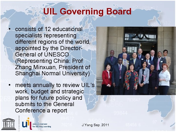 UIL Governing Board • consists of 12 educational specialists representing different regions of the