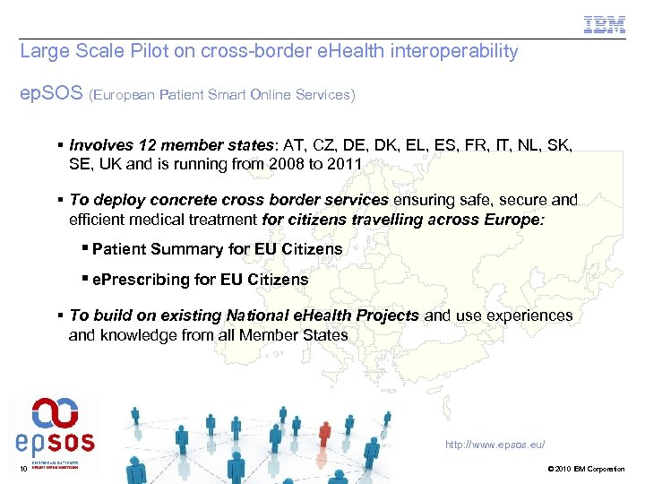 Large Scale Pilot on cross-border e. Health interoperability ep. SOS (European Patient Smart Online