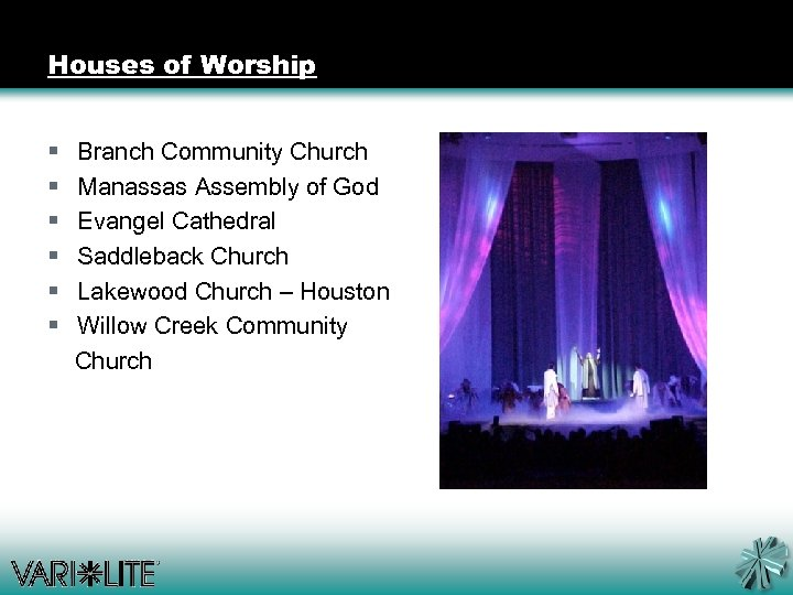 Houses of Worship § Branch Community Church § Manassas Assembly of God § Evangel