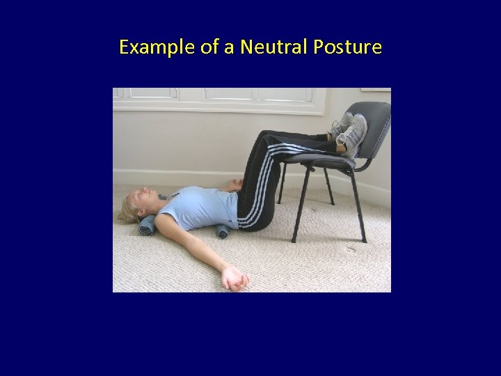 Example of a Neutral Posture
