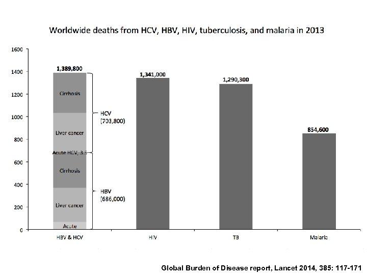 Global Burden of Disease report, Lancet 2014, 385: 117 -171
