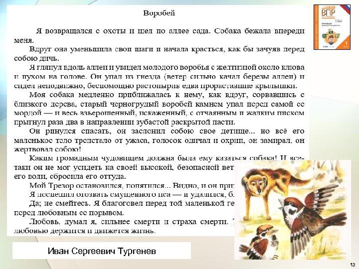 Иван Сергеевич Тургенев 13