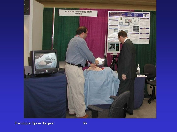 Periscopic Spine Surgery 55