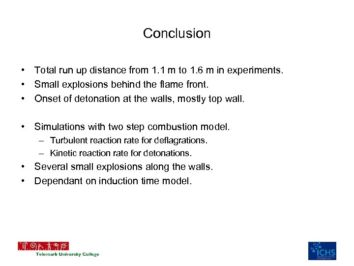 Conclusion • Total run up distance from 1. 1 m to 1. 6 m