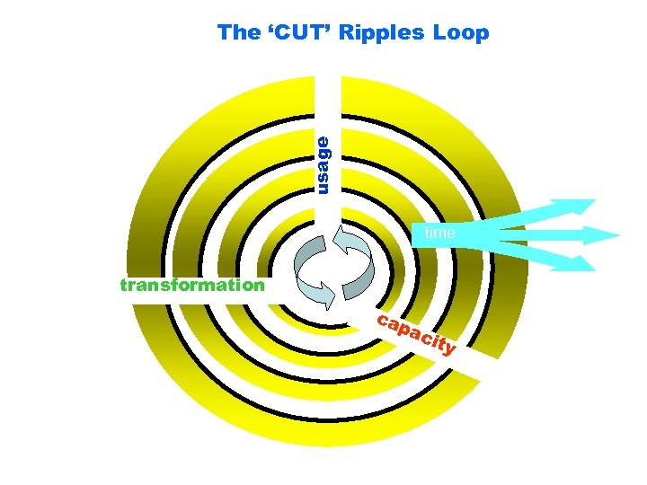 usage The 'CUT' Ripples Loop time transformation ca pa cit y
