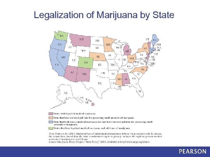 Legalization of Marijuana by State