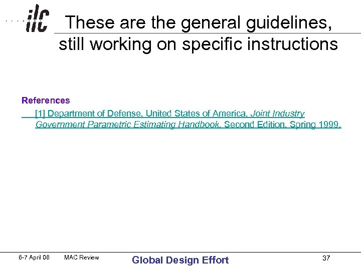 These are the general guidelines, still working on specific instructions References [1] Department of