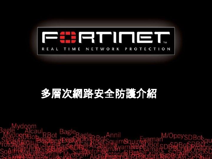 多層次網路安全防護介紹