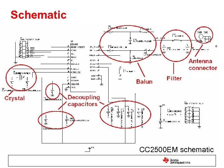 Schematic CC 2500 EM schematic