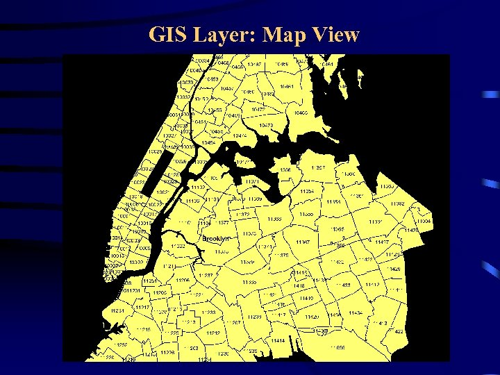 GIS Layer: Map View