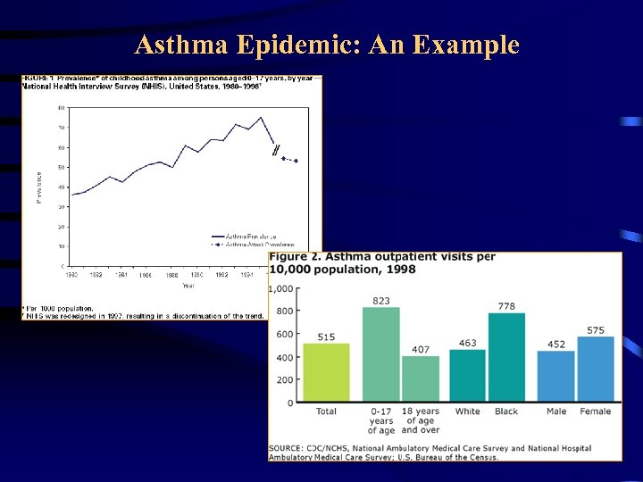 Asthma Epidemic: An Example