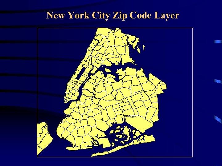 New York City Zip Code Layer