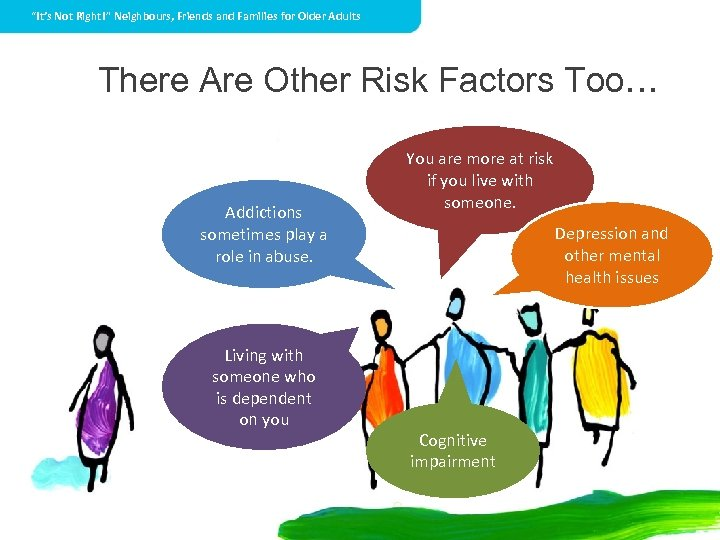 """""""It's Not Right!"""" Neighbours, Friends and Families for Older Adults There Are Other Risk"""