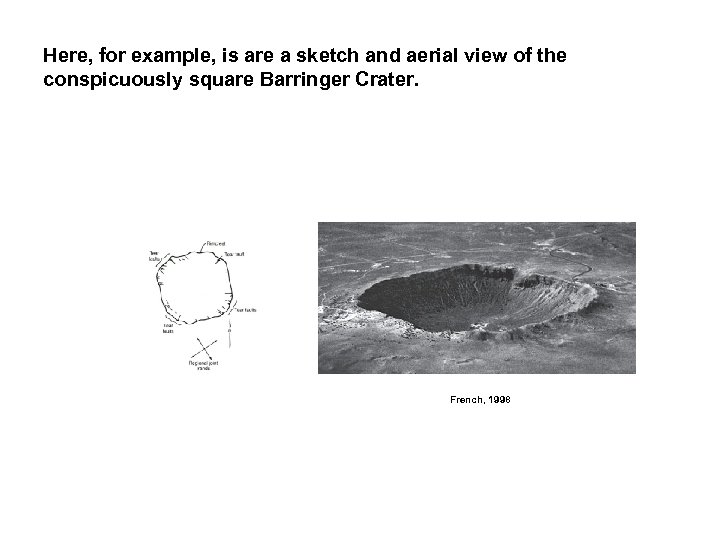 Here, for example, is are a sketch and aerial view of the conspicuously square
