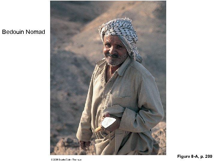 Bedouin Nomad Figure 8 -A, p. 209
