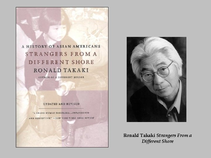 Ronald Takaki Strangers From a Different Shore