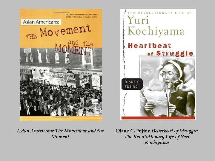 Asian Americans: The Movement and the Moment Diane C. Fujino Heartbeat of Struggle: The