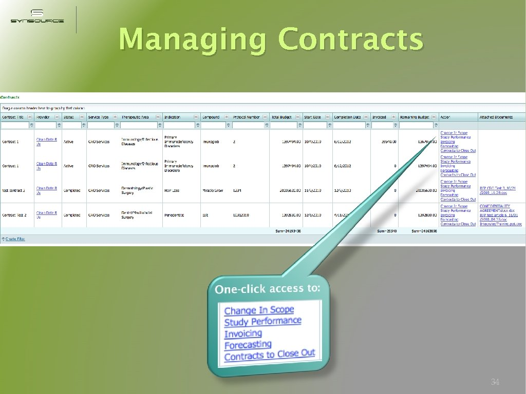 Managing Contracts 34