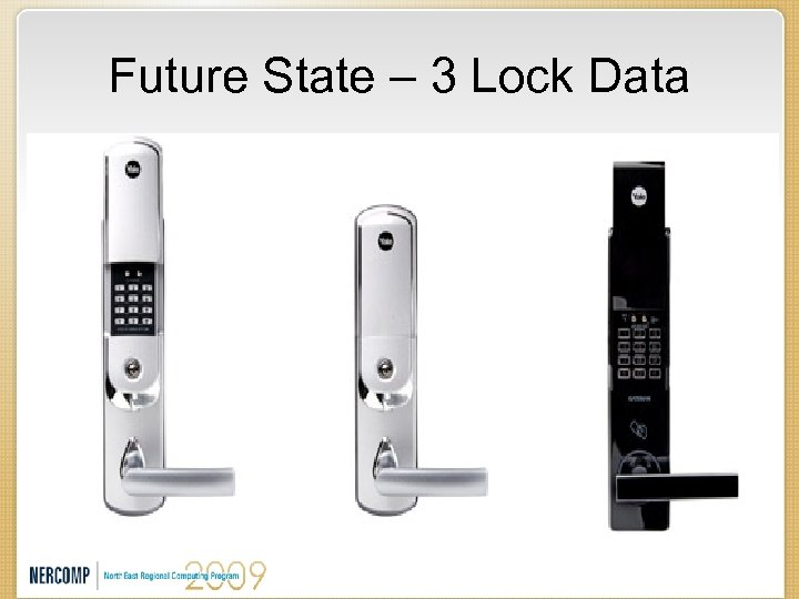 Future State – 3 Lock Data