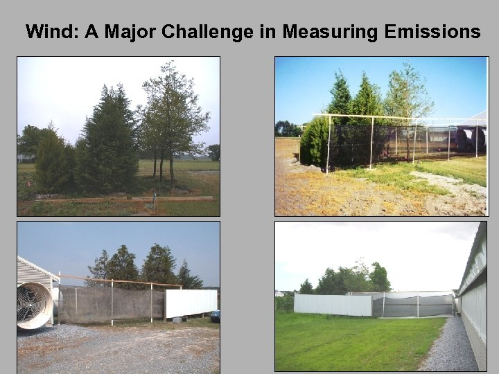 Wind: A Major Challenge in Measuring Emissions
