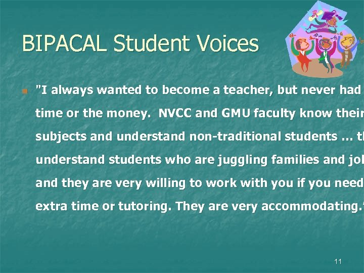 BIPACAL Student Voices n