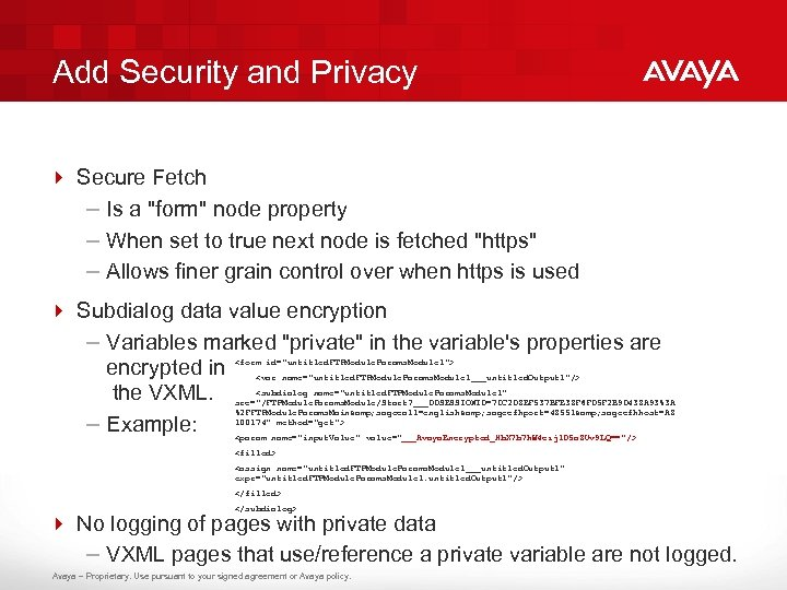 Add Security and Privacy 4 Secure Fetch – Is a