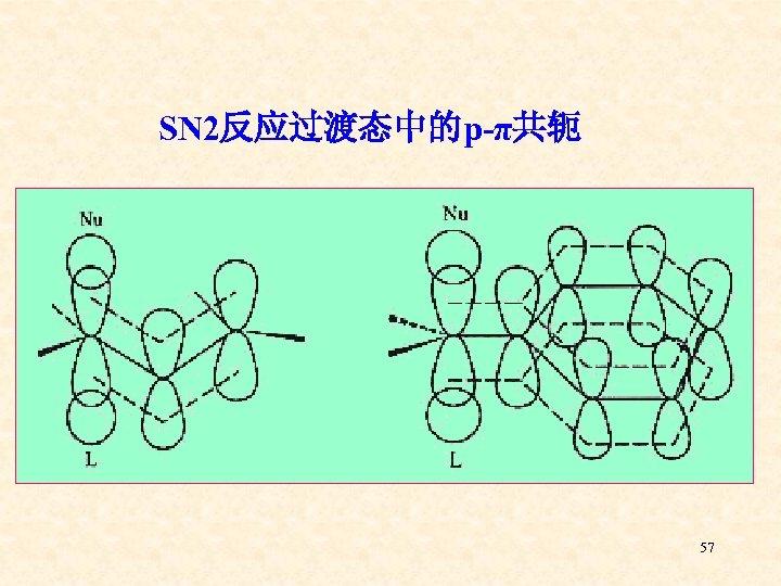 SN 2反应过渡态中的p-π共轭 57