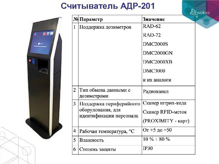 Считыватель АДР-201