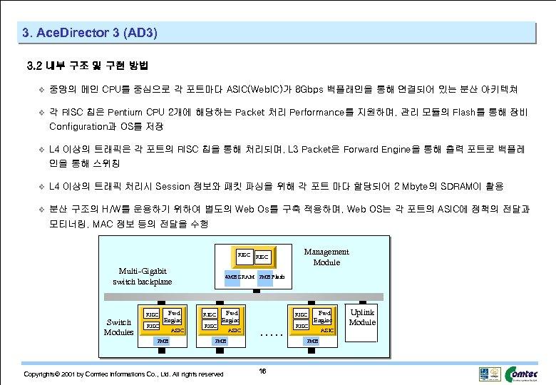 3. Ace. Director 3 (AD 3) 3. 2 내부 구조 및 구현 방법 v