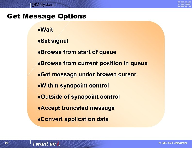 IBM System i Session Introduction to Web Sphere
