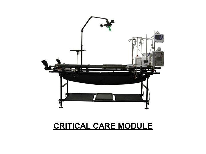 CRITICAL CARE MODULE