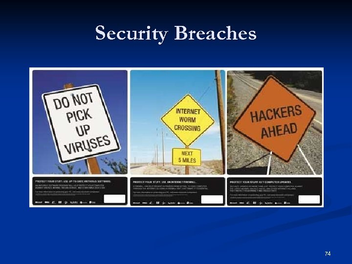 Security Breaches 74