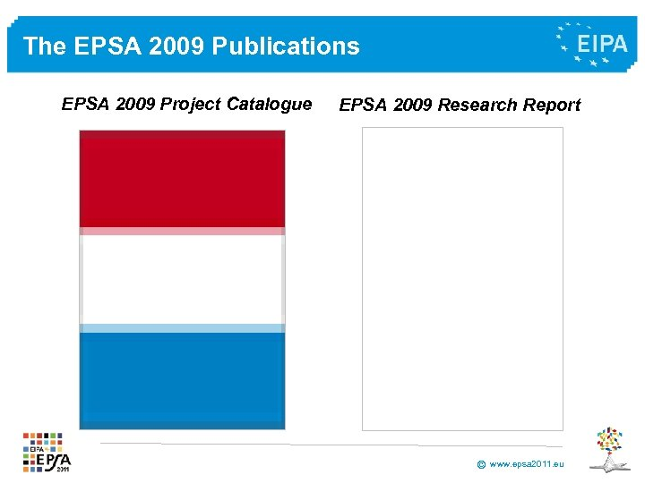 The EPSA 2009 Publications EPSA 2009 Project Catalogue EPSA 2009 Research Report © www.