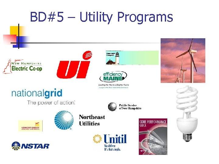 BD#5 – Utility Programs