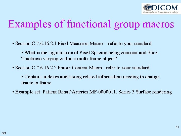 Examples of functional group macros • Section C. 7. 6. 16. 2. 1 Pixel