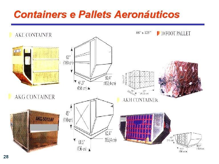 Containers e Pallets Aeronáuticos 28