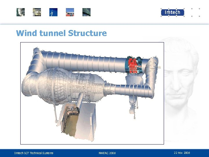 Wind tunnel Structure Imtech ICT Technical Systems NWERC 2008 22 nov 2008