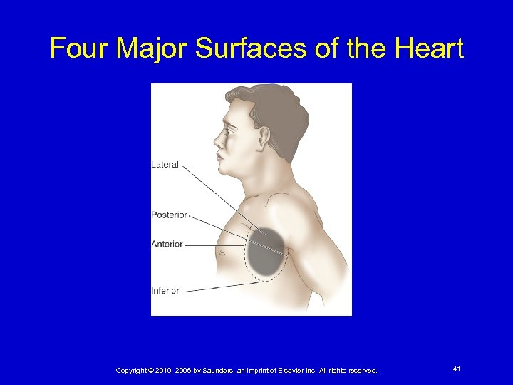 Four Major Surfaces of the Heart Copyright © 2010, 2006 by Saunders, an imprint