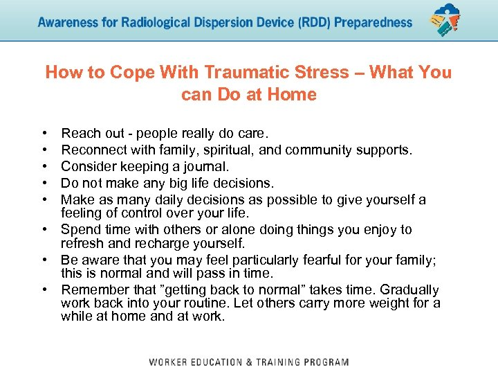 How to Cope With Traumatic Stress – What You can Do at Home •