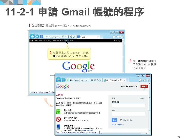 11 -2 -1 申請 Gmail 帳號的程序 10