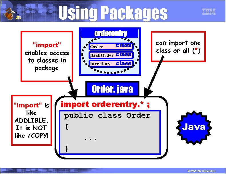 R P Using Packages G orderentry