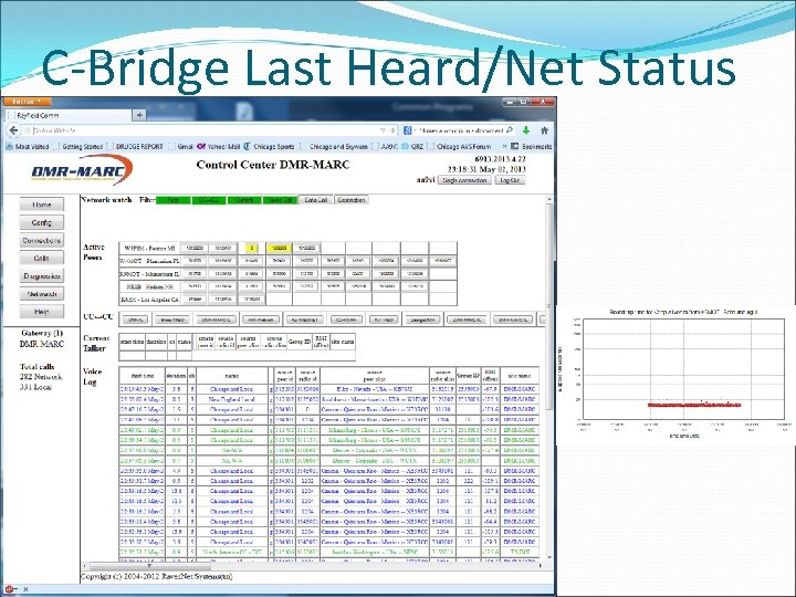 C-Bridge Last Heard/Net Status