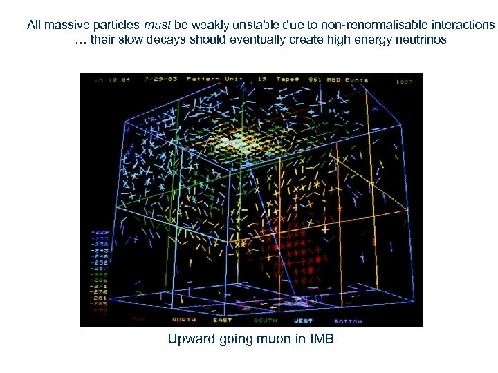 All massive particles must be weakly unstable due to non-renormalisable interactions … their slow