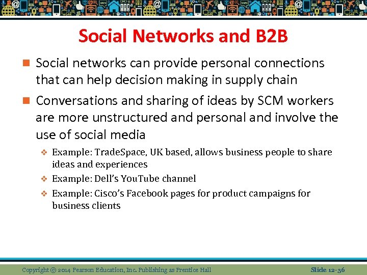 Social Networks and B 2 B Social networks can provide personal connections that can